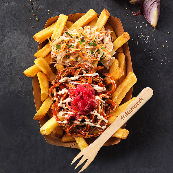BBQ Pulled Pork Poutine